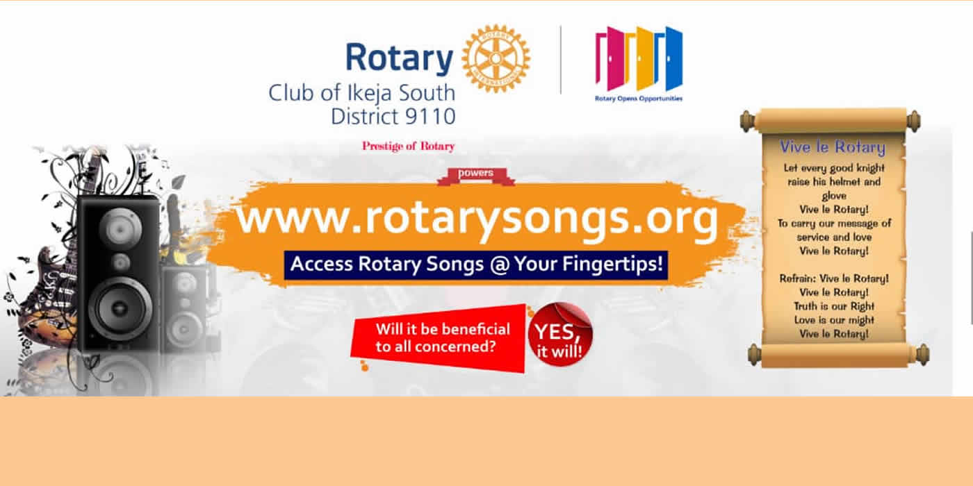 Rotary Songs @ Your Fingertips
